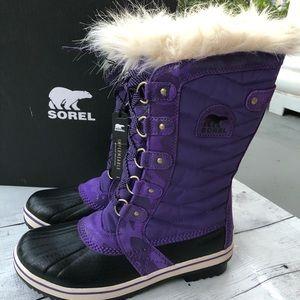 New Sorel Tofino II Youth Girls Winter Snow Boots
